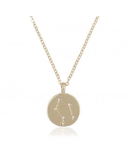 "Collier Médaille ""Balance"""
