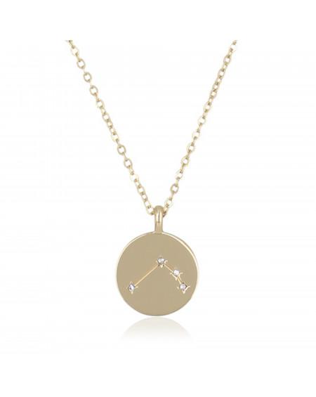 "Collier Médaille ""Bélier"""