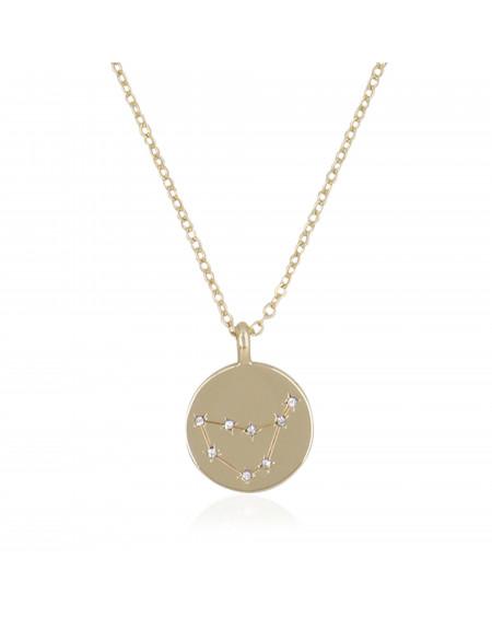 """Collier Médaille """"Capricorne"""""""