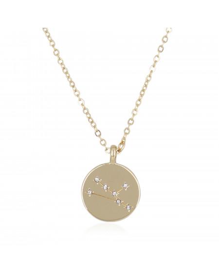 """Collier Médaille """"Taureau"""""""