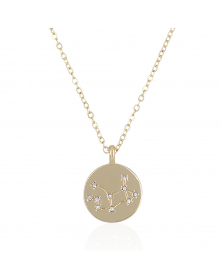 "Collier Médaille ""Vierge"""