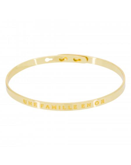 """Bracelet """"Une famille en or"""""""