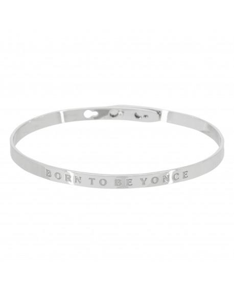 """Bracelet """"Born to Be Yonce"""""""