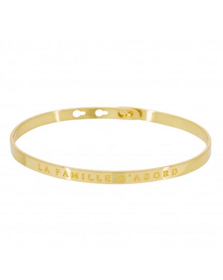 """Bracelet """"La famille d'abord"""""""