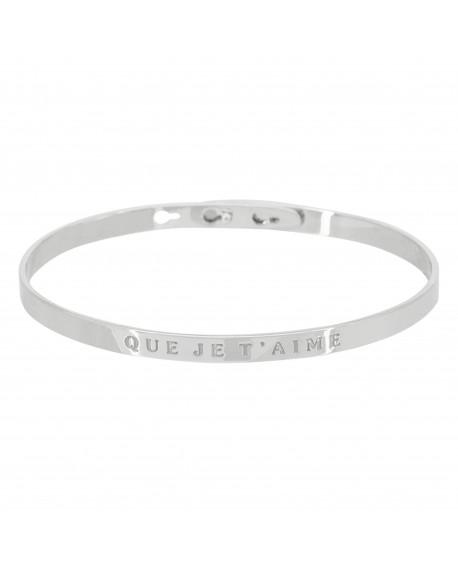"""Bracelet """"Que je t'aime"""""""