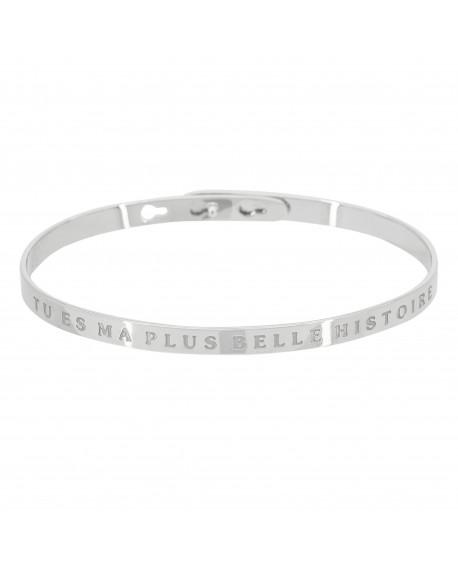 """Bracelet """"Tu es ma plus belle histoire"""""""