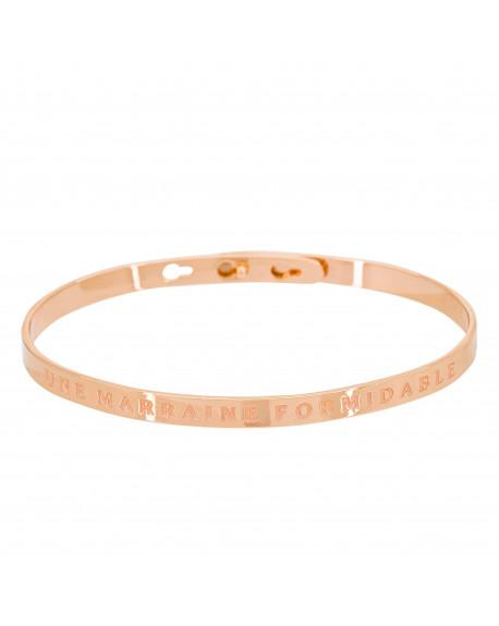 """Bracelet """"Une marraine formidable"""""""