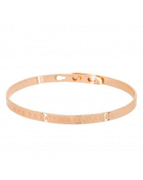 """Bracelet """"Une tata formidable"""""""