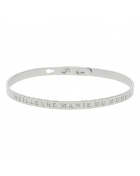 """Bracelet """"Meilleure mamie du monde"""""""